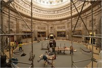 File:Time Lapse of Rotunda Floor & Art Protection 2015.webm