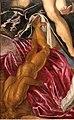 Tintoretto, tarquinio e lucrezia, 1578-80, 04 statua caduta.jpg