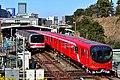 Tokyo Metro Marunouchi Line 02 and 2000 series in Yotsuya 20190223.jpg