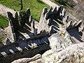 Torres inferiores do Castelo de Guimarães vistas da Torre central 06.jpg