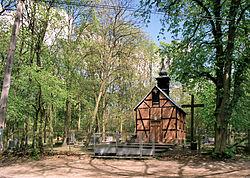 Torun Barbarka kaplica i cm