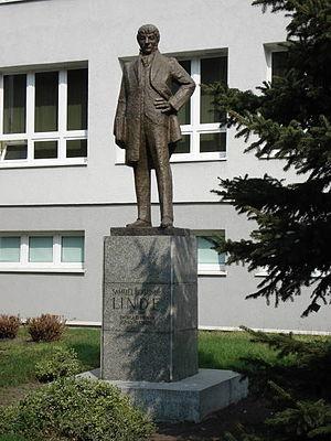 Samuel Linde - Linde monument, Toruń