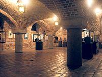 Piwnica Gdańska pod skrzydłem wschodnim Ratusza Staromiejskiego w Toruniu