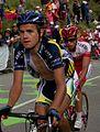 Tour de France 2011, alpedhuez, rob ruygh en julien el fares (14869661582).jpg