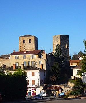 Saint-Cyr-au-Mont-d'Or - The centre of Saint-Cyr-au-Mont-d'Or