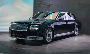 Toyota Century 3rd generation 2017 Tokyo Motor Show front 1.jpg