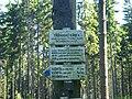 Trójpański Kamień - opis na drogowskazie turystycznym po stronie czeskiej.jpg