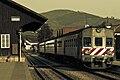 Train at Pinhao station Linha do Douro.jpg