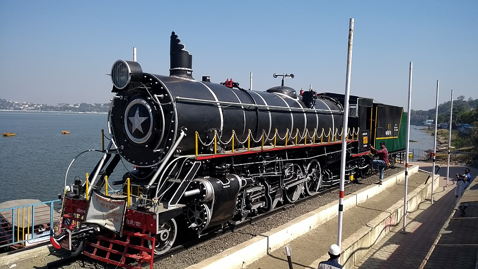 Train installation from Bhopal upper lake
