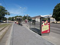 Tram and Bus Stop Linnahall in Tallinn 8 July 2017.jpg