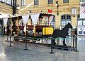 Tramvia a cavalls de 1890 exposat a l'estació del Nord de València.JPG