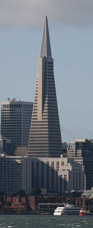 Transamerica Pyramid, San Francisco, imaged fr...