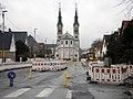 Travaux tram A église Illkirch-Graffenstaden 06122014.jpg