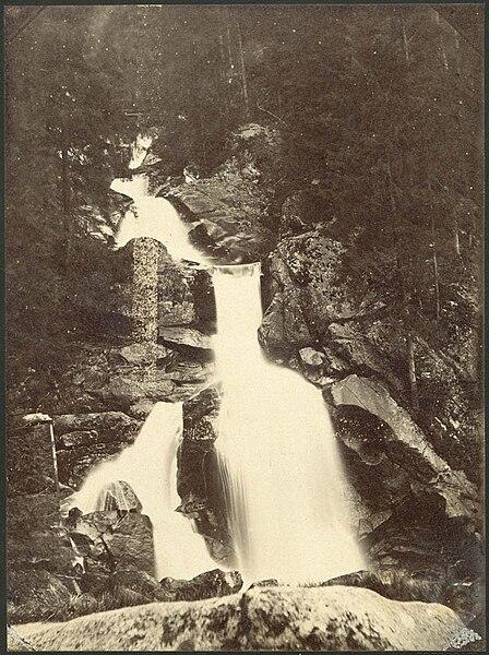 File:Triberg Waterfall, Black Forest, Germany, 1880s, Carl Curman.jpg