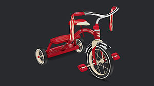 Big wheel (tricycle) - Children's tricycle