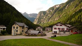 Trient, Switzerland - Trient village