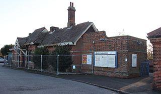 Trimley railway station railway station in Suffolk, England