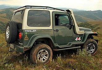 Ford Ranger (T6) - Troller T4 (pre-redesign)