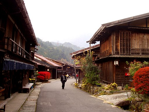 Tsumago, Nagano - street view