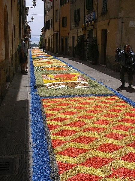 450px Tuoro02 Infiorata – the Italian flower festival in Genzano [35 Pics]