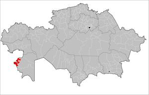 Tupkaragan District - Image: Tupkaragan District Kazakhstan