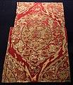 Turchia ottomana, tessuto con foglia saz (kemha), in lampasso lanciato e broccato, seta e oro filato, 1550-1600 ca. 01.jpg