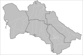 Districts of Turkmenistan - Districts of Turkmenistan