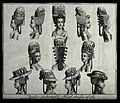 Twelve fashionable head-dresses for women. Etching. Wellcome V0019864.jpg