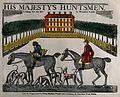 Two men going foxhunting with hounds Wellcome V0049609.jpg