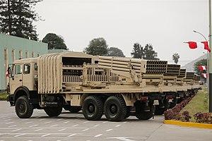 Type 81 (rocket launcher) - Image: Type 90B Peru