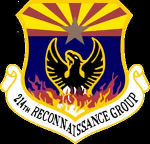 214th Reconnaissance Group - Image: USAF 214 Reconnaissance Group