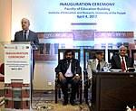 USAID Mission Director John Groarke Inaugurates Faculty of Education at the University of Punjab, Highlighting Education as a Key to Development and Human Rights (33710350631).jpg