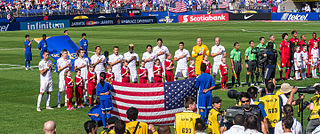 United States at the CONCACAF Gold Cup