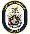 USS Arlington crest (5654756928).jpg