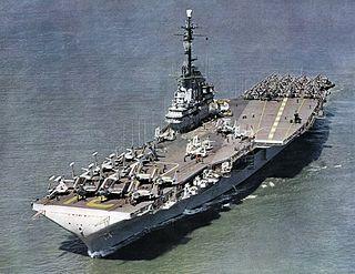 USS <i>Bon Homme Richard</i> (CV-31) Essex class aircraft carrier