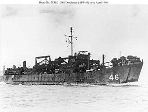 USS Blackford (APB-45) - Image: USS Dorchester (APB 46)