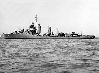 USS <i>Reid</i> (DD-369) WWII US destroyer