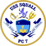 USS Squall PC-7 Crest.png