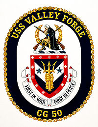 Crest of USS Valley Forge