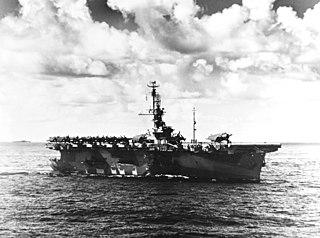USS <i>Wake Island</i> Casablanca-class escort carrier of the US Navy