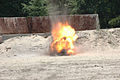 US Navy 060607-N-7987M-068 Explosive Ordnance Disposal Training and Evaluation Unit Two (EODTEU-2) demonstrates the destruction of an explosive device at Fort Story.jpg