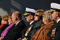 US Navy 090110-N-5735P-409 Distinguished visitors attend the commissioning ceremony of USS George H.W. Bush (CVN 77).jpg