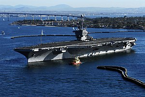US Navy 090117-N-2610F-257 USS John C. Stennis (CVN 74) departs Naval Air Station North Island.jpg