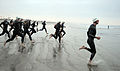 US Navy 090329-N-2959L-169 Athletes race to the water to begin the swim portion of the 31st annual Superfrog Triathlon at Silver Strand State Beach.jpg