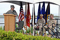 US Navy 100625-N-7456N-221 Gen. Douglas Fraser, commander of U.S. Southern Command, speaks during a change of command ceremony for Joint Task Force Guantanamo.jpg