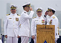 US Navy 100701-N-2953W-300 Vice Adm. Allen G. Myers, right, relieves Vice Adm. Thomas J. Kilcline Jr. as commander of Naval Air Forces.jpg