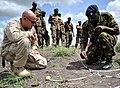 US Navy 110517-F-ND912-063 xplosive Ordnance Disposal Mobile Unit (EODMU) 11 trains Kenyan soldiers safe disposal of mines.jpg
