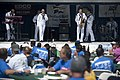 US Navy 110827-N-PB383-556 Sailors assigned to U.S. Navy Band Southwest's contemporary entertainment ensemble, The Destroyers, perform during the c.jpg