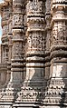 Udaipur-Jagdish Temple-12-Pillars of the Shikhara-20131013.jpg