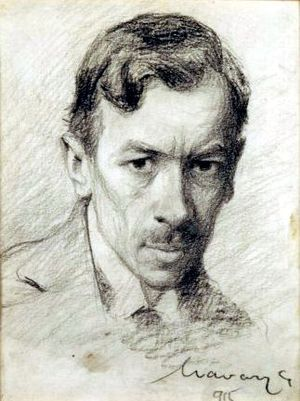 Géza Udvary - Self-portrait (1915)